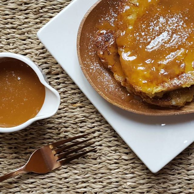 RECIPE SALTED CARAMEL SAUCE THE PERFECT MATCH French Toast THEhellip